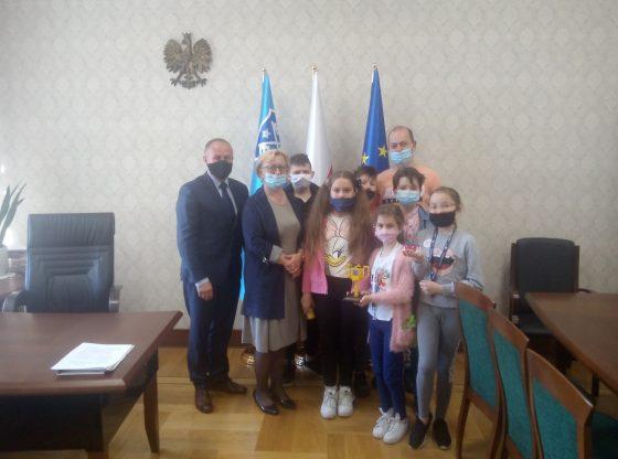 wizyta u burmistrza